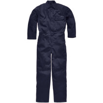 Dickies FR24/7A Flame Retardant Antistatic Everyday Coverall Boiler Suit Stud Front ISO 15797