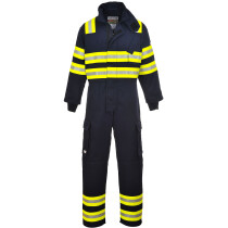 Portwest FR98 FR Wildland Bizflame Fire Coverall Flame Resistant  - Navy Blue