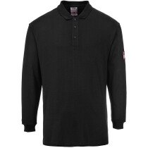 Portwest FR10 Flame Resistant Anti-Static Long Sleeve Polo Shirt - Various Colours Available
