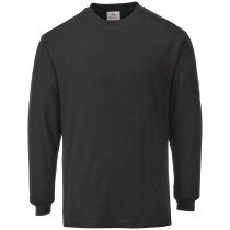 Portwest FR11 Flame Resistant Anti-Static Long Sleeve T-Shirt - Various Colours Available