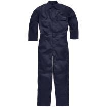 """Dickies FR24/7A Flame Retardant Antistatic Everyday Coverall Boiler Suit -MEDIUM (40""""-42"""" Chest)-Navy Blue"""