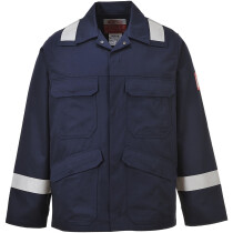 Portwest FR25 Workwear Range Bizflame Plus Jacket Flame Resistant - Available in Navy or Orange
