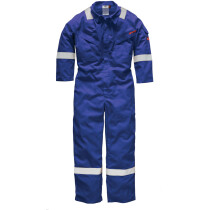 """Dickies FR5401 Lightweight Pyrovatex® Coverall - Royal Blue - 46"""" Regular - Clearance Item"""