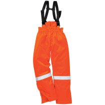 Portwest FR58 FR Anti-Static Winter Salopettes Flame Resistant