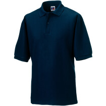 """Russell 539M Men's Classic Polycotton Polo Shirt, French Navy Blue 2XL (44""""-46"""" Chest)"""