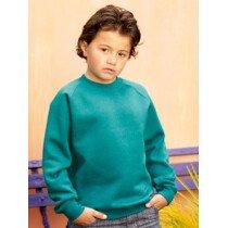 Fruit Of The Loom 62033 Children's Reglan Sleeve Sweatshirt 62033