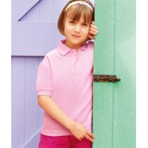 Fruit Of The Loom 63417 Children's 65/35 Pique Polo 63417