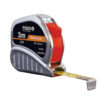 Fisco TM30121246 Chrome Tri-matic Tape Measure 3m / 10ft 13mm FSCTMC3ME