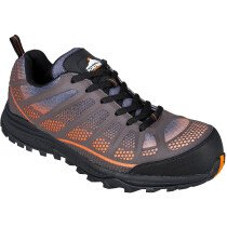 Portwest FT36 Compositelite Low Cut Spey Trainer S1P Footwear - Orange/Black