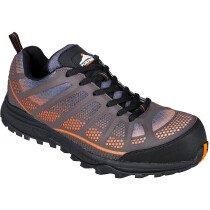 Portwest FT36 Compositelite Low Cut Spey Trainer Shoe S1P - Orange/Black