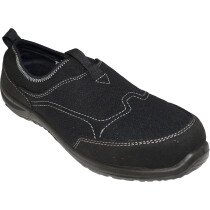 Portwest FT54 Steelite Tegid Slip On Trainer S1P Footwear - Black
