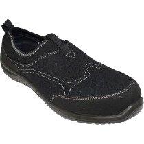 Portwest FT54 Steelite Tegid Slip On Trainer Shoe S1P - Black