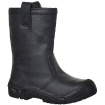 Portwest FW29 Steelite Rigger Boot Scuff Cap S3 CI - Available in Black or Tan