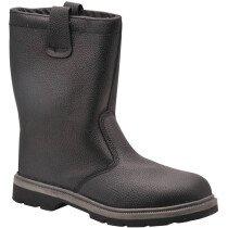 Portwest FW12 Steelite Rigger Boot S1P CI HRO - Available in Black or Tan