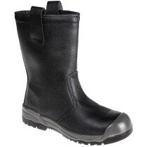 Portwest FW13 Steelite Rigger Boot S1P CI (With Scuff Cap)