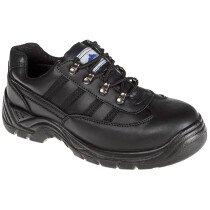 Portwest FW15 Steelite Safety Trainer Shoe S1 - Black