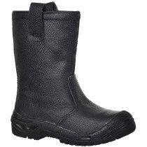 Portwest FW29 Steelite Rigger Boot Scuff Cap S3 CI - Available in Black or Tan