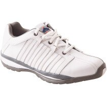 Portwest FW33 Steelite Arx Safety Trainer S1P HRO - White