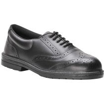 Portwest FW46 Steelite™ Work Steelite Executive Brogue S1P - Black