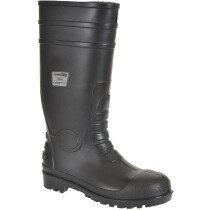 Portwest FW94 Classic Safety Wellington S4 - Black