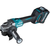 Makita GA004GD101 40v MAX XGT 115mm Angle Grinder with 1 x 2.5Ah Batter in Case
