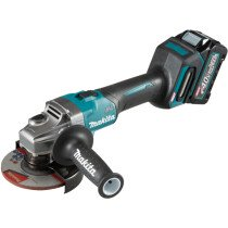 Makita GA005GD101 40v MAX XGT 125mm Angle Grinder with 1 x 2.5Ah Battery in Case