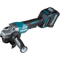 Makita GA012GD101 40v MAX XGT 115mm Angle Grinder with 1 x 2.5Ah Battery in Case