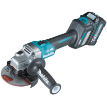 Makita GA022GD101 40v XGT 115mm Angle Grinder with 1 x 2.5Ah Battery in Case