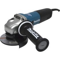"""Makita GA5040R01 5"""" 240V 1100W (125mm) Angle Grinder with """"Superjoint ll"""" and Anti Restart Protection"""