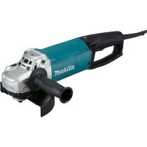 """Makita GA7063RX02  7"""" 2000W (180mm) Angle Grinder with D-Shape Handle, Anti-Eestart Function, Soft Start Features and Super Joint System"""