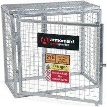 Armorgard GGC1 Gorilla Gas Bottle Cage 1000×500×900mm Galvanised