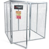 Armorgard GGC9 Gorilla Gas Bottle Cage 1800×1800×1800mm Galvanised