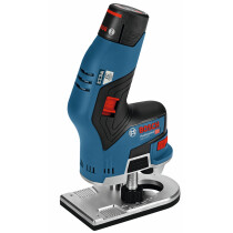 Bosch GKF12V8 12v Brushless Compact Router (2x3.0Ah) in L-Boxx