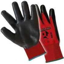 Premier NFPL-R Pred Red Nitrile Foam Gloves