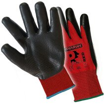 Premier NFPL-R Pred Red Nitrile Foam Gloves