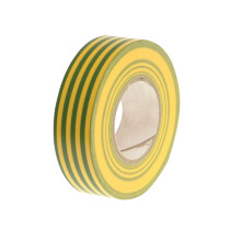 Lawson-HIS  PVC General Use Tape Green / Yellow 19mm x 33Mtr (Not Electrical)