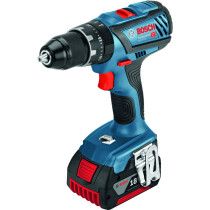 Bosch GSB18V28 18V Dynamic Series Combi Drill with 2x 5.0Ah Batteries in L-BOXX