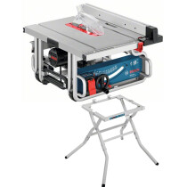"Bosch GTS10J 10"" 1800w Table Saw with Soft Start and Overload Protection with Leg Stand"