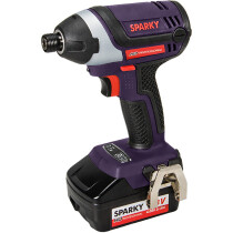 Sparky HD Professional GUR18LiHD 18V Impact Driver with 2 x 4.0Ah Batteries in Case