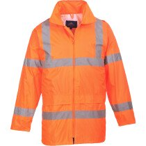 Portwest H440 Hi-Vis Rain Jacket  High Visibility Class 3 - Orange