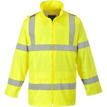 Portwest H440 Hi-Vis Rain Jacket  High Visibility Class 3 - Yellow