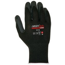 Juba Agility 5112 Red Dots Nitrile Foam Gloves