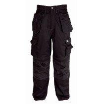 Himalayan H810 BK Iconic Black Workwear Trousers