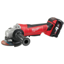 Milwaukee HD18115AG-402C 18V Cordless Lithium Ion Angle Grinder (2x4Ah)