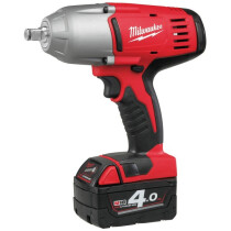 Milwaukee HD18HIWF402 18v High Power Impact Wrench with Friction Ring (2 x 4.0Ah)