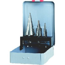 Heller 22611 HSS Step Drill Bit Set of 3 Bits 22611-0 Set