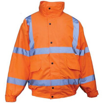 JSP BHVBJ2 High Visibility BREATHABLE HiVis Bomber Jacket Orange