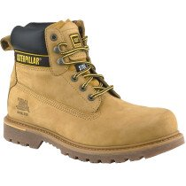 Caterpillar Holton CAT Safety Boots Leather SB