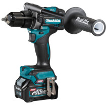 Makita HP001GD202 40v MAX XGT Combi Drill with 2 x 2.5Ah Batteries and Charger in Case