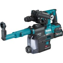 Makita HR004GD102 40v MAX Brushless SDS Hammer Drill with Dust Collection, 1 x 2.5Ah Battery in Case